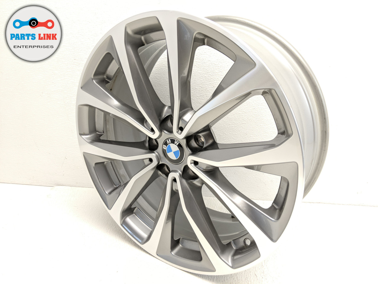 2018 2019 Bmw X3 G01 Wheel 19 X J7 5 Inch 692 Style 10 5 V Spoke Alloy Rim Cap Parts Link Ent