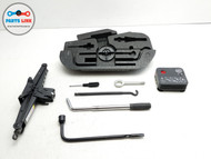 17-20 MASERATI LEVANTE M161 TRUNK SPARE EMERGENCY JACK LIFT TOOL COMPRESSOR KIT