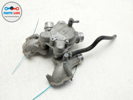 2006-2010 BMW M6 E63 5.0L ENGINE MOTOR COOLING WATER PUMP THERMOSTAT OUTLET PIPE