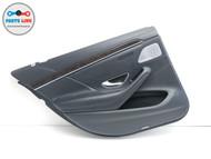 14-17 MERCEDES S550 W222 REAR LEFT DOOR TRIM PANEL ARM REST HANDLE COVER CARD LH #MB012220