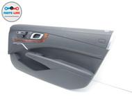 13-19 MERCEDES SL550 R231 FRONT RIGHT PASSENGER DOOR TRIM PANEL ARMREST HANDLE #SL122019