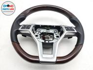 2013-2016 MERCEDES SL550 R231 DRIVER STEERING WHEEL PADDLE SHIFTER SWITCH WALNUT #SL122019