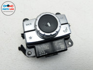 2013 MERCEDES SL550 R231 CENTER CONSOLE RADIO MEDIA MMI MENU SWITCH ROTARY KNOB #SL122019