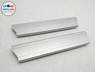 2014-2019 RANGE ROVER SPORT L494 FRONT RIGHT LEFT DOOR SILL SCUFF STEP PLATE SET