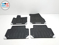 2020 RANGE ROVER EVOQUE L551 FRONT REAR ALL WEATHER RUBBER FLOOR MAT COVER SET-4