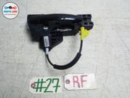 08-12 AUDI TT FRONT RIGHT PASSENGER SIDE EXTERIOR DOOR HANDLE GRIP GRAB OPENER #TT030115