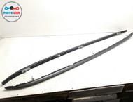 2014-2018 BMW X5 35I XDRIVE F15 LEFT AND RIGHT ROOF RACK RAIL SET BLACK OEM