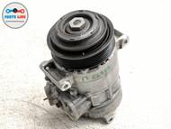 17-18 MERCEDES CLS63 AMG S W218 AC AIR CONDITIONER COMPRESSOR W/PULLEY CLUTCH #CL081619
