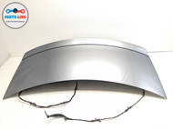14-17 MERCEDES CLS63 S AMG W218 REAR TRUNK DECK LID HATCH SHELL TRIM ASSEMBLY #CL081619