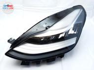 17 18 19 20 TESLA MODEL 3 HEADLIGHT LAMP ASSEMBLY LEFT FRONT DRIVER SIDE OEM #TS082820