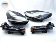 17 18 19 20 TESLA MODEL 3 HEADLIGHT FOG LAMP SET-4 RIGHT PASSENGER LEFT DRIVER #TS082820