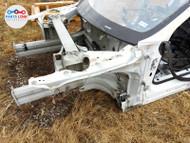 12-16 TESLA MODEL S RWD FRONT LEFT INNER FENDER APRON FRAME RAIL STRUCTURAL CUT #TS100120