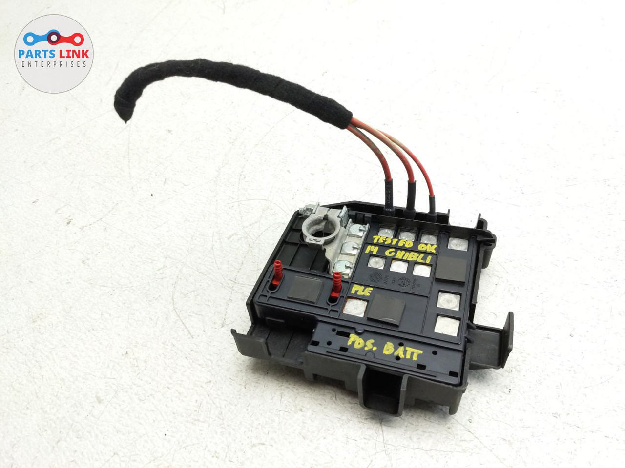 2014-2020 MASERATI GHIBLI S Q4 POSITIVE BATTERY TERMINAL CABLE FUSE BOX  MODULE - PARTS LINK ENT | Battery Cable To Fuse Box |  | Parts Link Enterprise