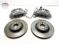18-19 LAND ROVER DISCOVERY L462 FRONT RIGHT LEFT CALIPER ROTOR BREMBO BRAKE SET