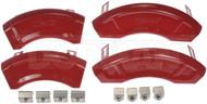 Dorman 11-0003F Brake Disc Caliper Aesthetic Cover Front and Rear 06-10 Mustang #NI101320