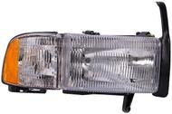 New Dorman 1590405 Passenger Side Right HeadLight 94-01 Dodge Ram Truck Headlamp #NI100820