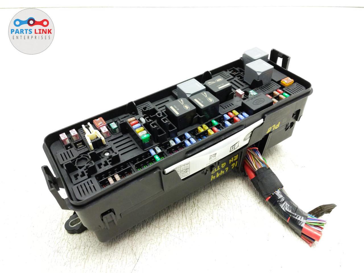 16-17 range rover sport diesel rear right quarter fuse box power relay  assembly  parts link enterprise