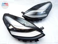 17 18 19 20 TESLA MODEL 3 HEADLIGHT LAMP RIGHT PASS LEFT DRIVER SET-2 PAIR A2 #TS082820