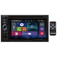 "Power Acoustik PD624B 6.2"" LCD Touchscreen CD/DVD AUX USB Bluetooth Car Player #NI101920"