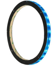 """1) DS18 LRING12 For 12"""" Waterproof RGB LED Speaker Glass Ring 1/2"""" Spacer Accent #NI062121"""