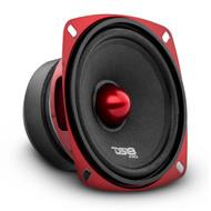 "1) DS18 PRO-X44BM 4"" 200 Watt Midrange Mid Bass Car AUdio Speaker Loudspeaker #NI062121"