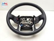 2020-2021 RANGE ROVER EVOQUE DRIVER STEERING WHEEL HEATED LEATHER CHROME TRIM LH #EQ051821