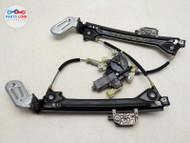 2014-2020 MASERATI GHIBLI REAR LEFT DOOR WINDOW REGULATOR MOTOR GLASS LIFT M157 #MZ100920