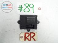 RANGE ROVER EVOQUE  BODY COMFORT DOOR CONTROL MODULE RIGHT REAR PASSENGER SIDE