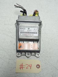 08-11 MERCEDES BENZ ML550 SRS AIRBAG AIR BAG CONTROL COMPUTER MODULE 1648209585