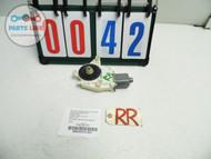 MERCEDES E63 W212 AMG DOOR GLASS WINDOW REGULATOR MOTOR ASSEMBLY RIGHT REAR OEM