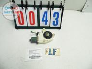 MERCEDES E63 W212 AMG DOOR GLASS WINDOW REGULATOR MOTOR ASSEMBLY LEFT FRONT OEM