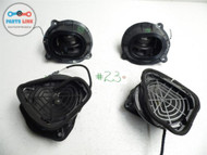 MERCEDES KOMPRESSOR SLK230 98-00 SPEAKER SOUND SYSTEM SET OF 4 LEFT RIGHT OEM