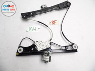 MERCEDES E55 AMG 03-06 DOOR GLASS WINDOW REGULATOR MOTOR ASSEMBLY RIGHT FRONT OE