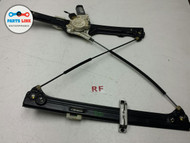 BMW X5 E70 RIGHT FRONT PASSENGER WINDOW REGULATOR WITH MOTOR OEM