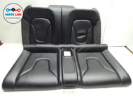 10-12 AUDI S5 REAR SEATS  RIGHT LEFT TOP BOTTOM CUSHIONS PAD COVER CABRIO SET #AS101716