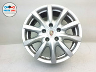 PORSCHE CAYENNE 958 RIM 8Jx18H2 10 spoke WHEEL ALLOY W/ CENTER CAP #1