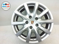 PORSCHE CAYENNE 958 RIM 8Jx18H2 10 spoke WHEEL ALLOY W/ CENTER CAP #2