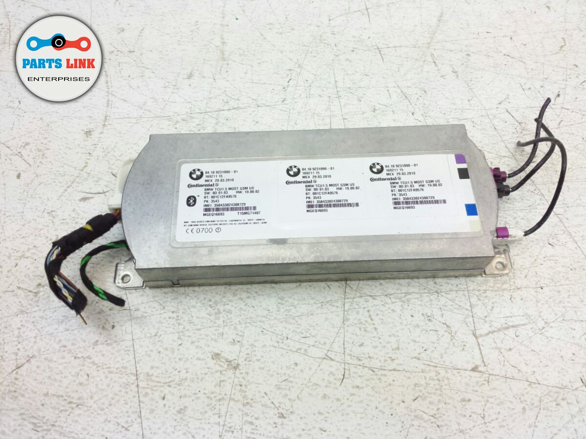 BMW 535I F07 3 0L TELEMATICS CONTROL UNIT BLUETOOTH MODULE OEM