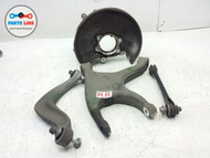 08-14 AUDI A5 RIGHT REAR PASSENGER CONTROL ARMS KNEE SPINDLE KNUCKLE W/O HUB SET #AU120516