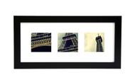 Instagram Photo Frame 8x18 - Wide Satin Black