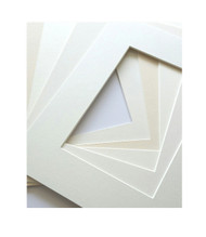 16x20 Single Matting Pack of 5 - Assorted Creams and Whites