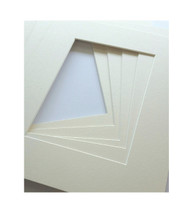 8x10 Single Matting Pack of 5 - Off White
