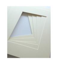 11x14 Single Matting Pack of 5 - Off White