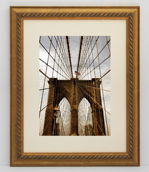 12x16 Gold Rope Frame Anysizeframe Com