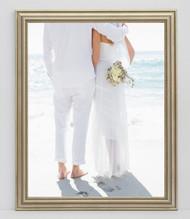 12x18 Delicate Silver Frame