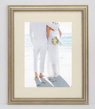18x24 Delicate Silver Frame