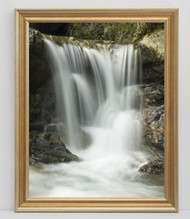 12x18 Warm Silver With Gold Wash Frame