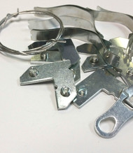8x8 Metal Frame Hardware Kit