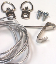 6x8 D-rings and wire
