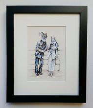 Old Friends- Framed Art Print - 8x10